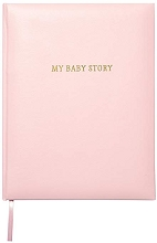 C.R.Gibson Girl Pink Bonded Leather Memory Book
