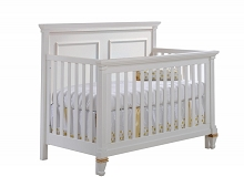 Natart Juvenile Belmont Gold Furniture Set in White