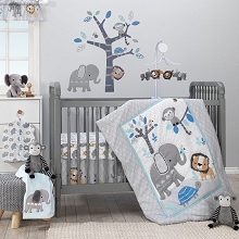 Bedtime Originals Jungle Fun Bedding Crib Set 3-Pieces