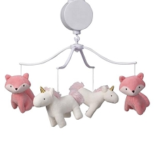 Bedtime Original Rainbow Unicorn Musical Mobile