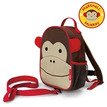Skip Hop Zoo Monkey Safety Harness Backpack