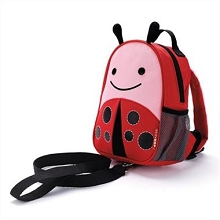 Skip Hop Zoo LadyBug Safety Harness Backpack