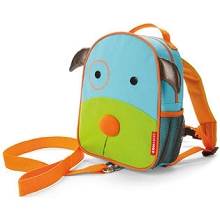 Skip Hop Zoo Dog Safety Harness Backpack