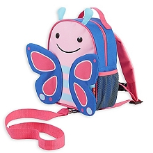 Skip Hop Zoo Butterfly Safety Harness Backpack