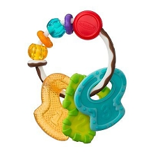 Infantino Cool & Chew Teether Keys-Topsy