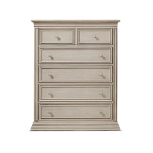 Sorelle  Sedona 5 Drawer Dresser in Rustic Taupe