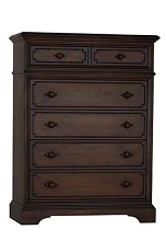 Biltmore Amherst 6 Drawer Dresser in Burnt Oak
