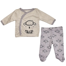 Gerber Dream 3 Pieces Pant Set Neutral, 0-3 Months