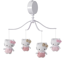 Bedtime Original Hello Kitty Luv Musical Mobile