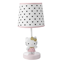 Bedtime Original Hello Kitty Luv Lamp and Base