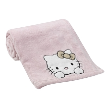 Bedtime Original Hello Kitty  Luv Blanket