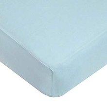 American Baby Supreme Jersey Bassinet Sheet Blue