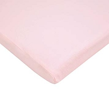 American Baby Supreme Jersey Bassinet Sheet Pink