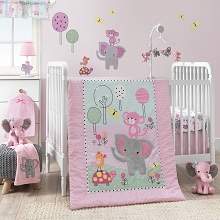 Bedtime Original Twinkle Toes Bedding Crib Set 3-Pieces