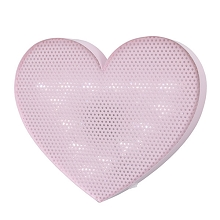 Crown Craft Heart Light Up Wall Decor Pink