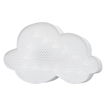 Crown Craft Cloud Light Up Wall Decor White