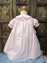 Willbeth Smocked Dress Pink Berry