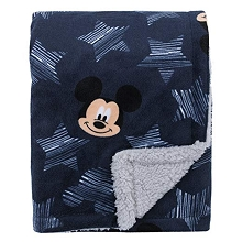 Crown Craft Mickey Mouse Hello All Star Plush Blanket