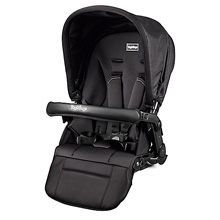 Peg Perego Book Team 2nd Seat Stroller Onyx-Black