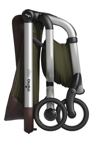 Mima Kids Zigi Lightweight Stroller Olive Green