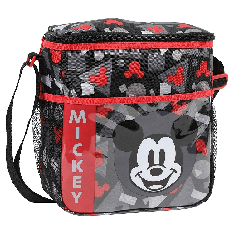 Cudlie Accessories Mickey Mouse Mini Diaper Bag Grey Red