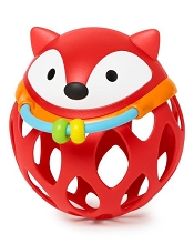 Skip Hop Explore & More Roll Around Rattle, Fox