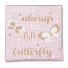 Tender Kisses Little Butterfly Wall Art