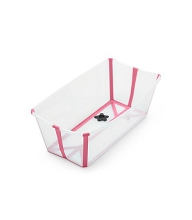 Stokke® Flexi Bath® Transparent Pink