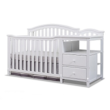 Sorelle Berkley 4-in-1 Crib & Changer in White