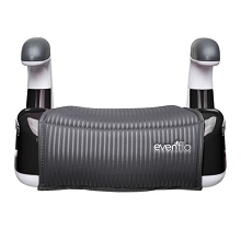 Evenflo AMP Performance No Back Booster Seat, Black