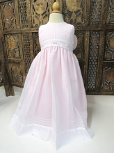 Willbeth Dress Sheer Pink-White