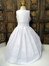 Will'beth Smocked Communion  Dress