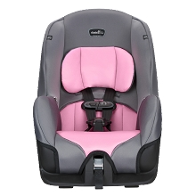Evenflo Tribute LX Convertible Car Seat Pink Ice