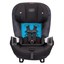 Evenflo Stratos 65 Convertible Car Seat Glacier