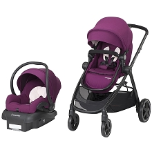 Maxi Cosi Zelia Travel System with Mico 30 Violet Caspia