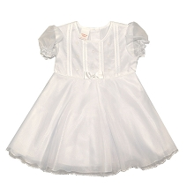 Karela Kids Organza Dress White