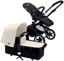 Bugaboo Buffalo Tailored Fabric Set (Only)  Off White
