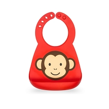 Nuby On-the-Go 3D Silicone Feeding Bib