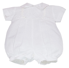 Karela KIds Pique Bubble Romper Boy