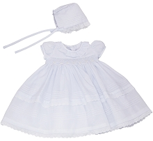 Karela KIds Christening Dress Organza in White