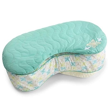 Born Free Bliss™ Slipcover Quilted Pillow Sketchy Leaf
