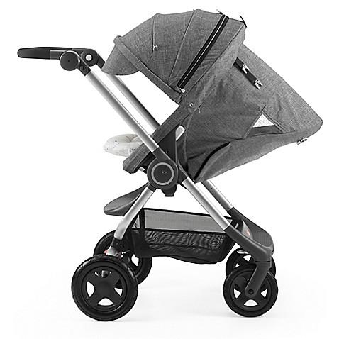 Stokke Scoot Complete Stroller Black Melange