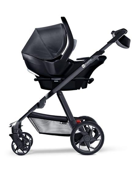 4moms™ Self Installing Car Seat, Black - Ideal Baby