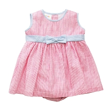 Karela Kids Stripes Girl Dress with Panty