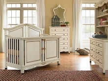 La Jobi Liberty Collection Hutch White-Chocolate