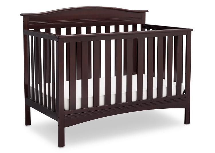 072ee7bf562 Delta Children Bakerton 4-in-1 Crib Convertible Dark Chocolate. Tap to  expand