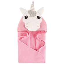 Hudson Baby Animal Hooded Towel-Unicorn