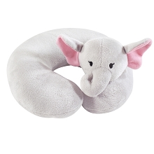 Hudson Baby Neck Pillow Pretty Elephant