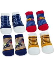 Tender Kisses Ballet Flats Fancy Ankle Socks 4 Pieces Gift Box 4