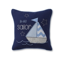 Tender Kisses Little Sailor Decorative Pillow